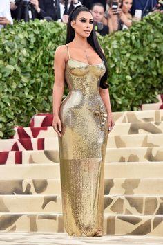 Kim at the Met Gala - May 7, 2018