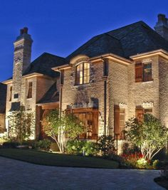 House Ground Lighting Outdoor Accents