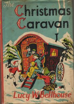 children books, christma caravan
