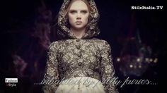 """Italian Fashion"" - ""Dolce & Gabbana"" - ""2015 Winter"" - ""Once Upon a Tim..."