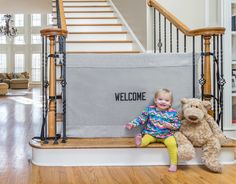 Baby gate that looks good!
