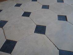 Dallage à cabochons en pierre calcaire «Cathédrale»Ajouter à vos favoris