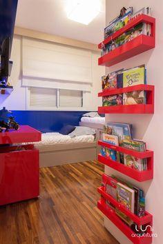 Quarto Infantil Temático - Luni Arquitetura #BooksShelf