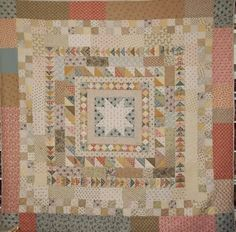 I love many different types of quilts but am especially fond of Medallions or Frame quilts, with a special weakness for the unsophisticat...