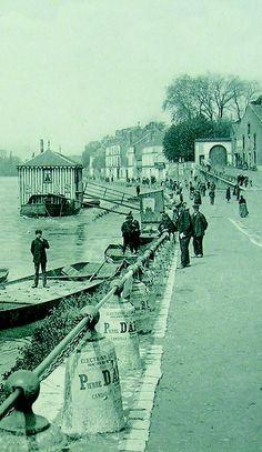 Les quais années 1900 Service Tourisme 05.49.20.30.87