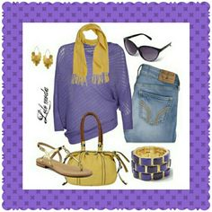 efdd5dfe63573 Purple and yellow is a very bold choice to make. Lsu Game, Yellow Purses