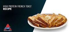 High Protein French Toast Atkins, High Protein, French Toast, Breakfast, Recipes, Food, Morning Coffee, Eten, Recipies