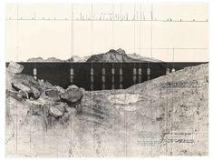 BENIAMINO SERVINO I ponti della valle [Rilievo di un acquedotto post-romano]