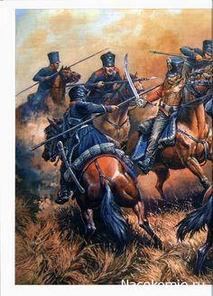 Кавалерийский бой между 2-м Силезским уланским полком и Изюмским гусарским в деле при Молевом Болоте
