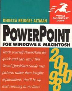 PowerPoint Windows MacIntosh Rebecca Bridges Altman 0201354411