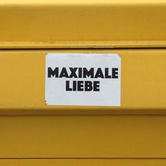Maximale Liebe