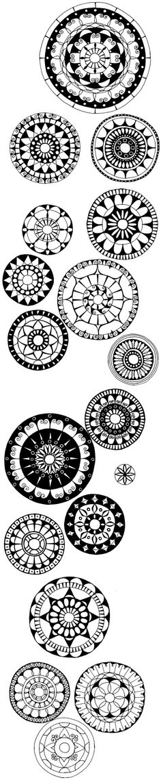 Some amazing doodles - maybe print them out as coloring pages to pass the time?
