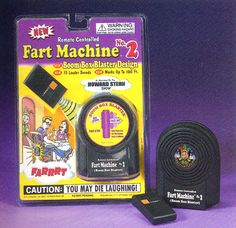 BIG BOOM REMOTE CONTROLLED FART MACHINE 2 April Fools Pranks, April Fools Day, Man Cave Gear, Howard Stern Show, Sound Words, Gag Gifts, Remote, It Works, My Love