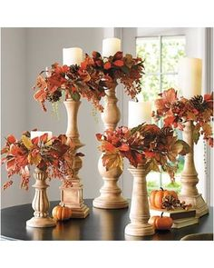44 Easy and Practical DIY Fall Decor Ideas. To create a fantastic fall decoration you will need a brilliant idea and some unusual elements. If you wish to save a few of these fabulous DIY fall decor i. Decoration Christmas, Fall Church Decorations, Fall Harvest Decorations, Diy Thanksgiving Decorations, Fall Christmas Tree, Easter Decor, Best Halloween Decorations, Halloween Decorating Ideas, Fall Festival Decorations