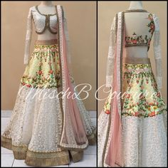 Intrinsic Beauty, lehenga by MischB Couture