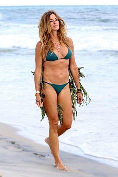 Kelly Bensimon's Bikini-Clad Hamptons Trip