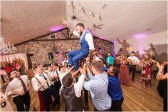 Fun wedding reception photos @ HollyHedge Estate