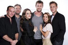 Thor, Cast 2010 - Comic-Con 2010 Portraits