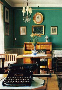 Rungstedlund, home of Karen Blixen, Denmark.