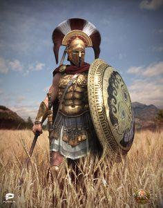 Sparta Agema, Vladimir Silkin on ArtStation at http://www.artstation.com/artwork/sparta-agema