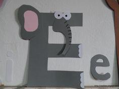 E de la elefant