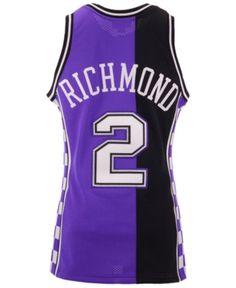 Mitchell  amp  Ness Men s Mitch Richmond Sacramento Kings Authentic Jersey  - Purple XXL Sacramento Kings aa0a972ce