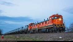 RailPictures.Net Photo: BNSF 1265 Burlington Northern Santa Fe NRE 3GS21B at Saginaw, Texas by Jordan Hood
