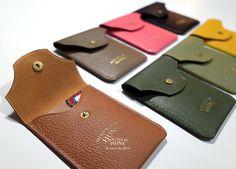 Leather Card case by HeritageByHuns on Etsy