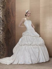 Suknia ślubna Pronuptia Aimee, kolor ivory i biel
