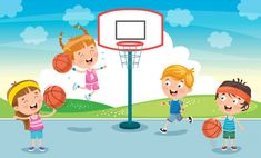 Cute Clipart, Kids Sports, Drawing For Kids, Kids Education, Kids Playing, Adobe Illustrator, Vector Free, The Outsiders, Web Design