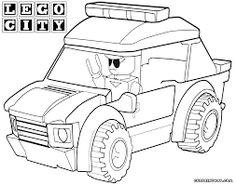 billedresultat for lego city coloring pages