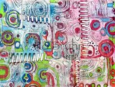 Image result for gelli prints using