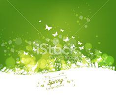 Spring Background - Illustration