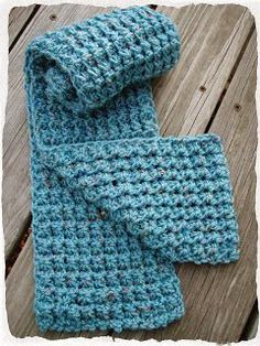 This Housewife Life...: Trinity Stitch Scarf ~ FREE PATTERN