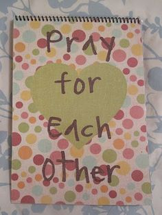 I love this idea on teaching your kids to pray.  I love how the parents have the child pick 3 people out of the Prayer Book and sing a song to pray.