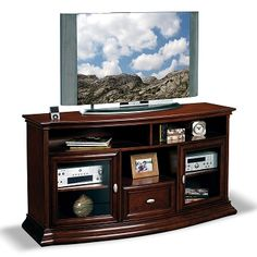 Keno Entertainment Wall Units TV Stand - Value City Furniture $549.99 (Good color and good storage)