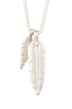 Long Feather Necklace by Rebecca Minkoff on @HauteLook