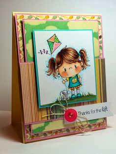 Breezy from CC Designs card by Tracy's Stamping Corner