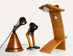 luminária banco de madeira - Pesquisa Google