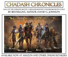 Check out this amazing Chadash Chronicles! https://www.goodreads.com/author/show/7484468.David_G_Johnson