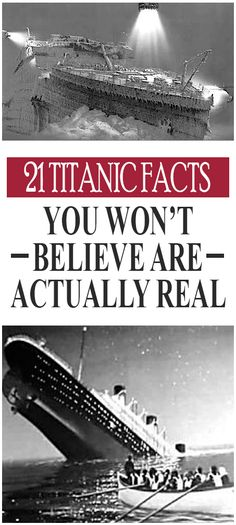 What film could ever be more tragic than Titanic? You have probably memorized every detail about the movie but check out these facts you didn't know existed that weren't shown in the big screen. Titanic Ship, Rms Titanic, Titanic Movie, Interesting Information, Interesting History, Things To Know, How To Memorize Things, Titanic History, Facts You Didnt Know