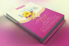 Mothers Love Church Flyer Template from DesignBundles.net