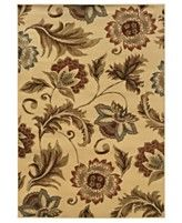 Sphinx Area Rug, Pember 701W Floral Ivory 8' x 10'