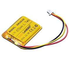 3.7V 470mAh Rechargeable li-Polymer Li-ion Battery For  MIO tachograph MODEL 582535 SP5 mp3  GPS PSP  papago //Price: $15.38 & FREE Shipping //     #RCQuadcopter