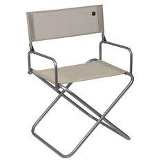 Chaise De Camping Cno Lafuma . Cu0027est La Chaise Idéale En Camping, à Lu0027heure  Du Repas Ou De La Partie De Cartes. Elle Est également Parfaite Pour Lau2026