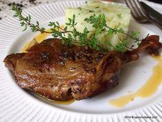 Friptura de iepure la cuptor   Savori Urbane Gnocchi, Carne, Crockpot, Slow Cooker, Steak, Pork, Food And Drink, Chicken, Recipes