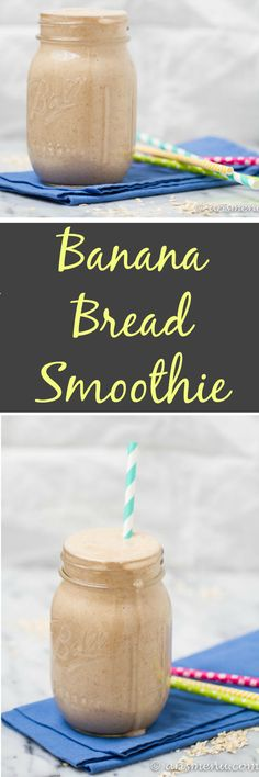 Dairy-Free Banana Bread Smoothie