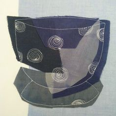 Chávena, or ceramic cup by Mónica Leitão Mota, mixed media and fibre artist in Canada