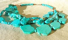 The Many Shades of Turquoise by Sally Grayson on Etsy