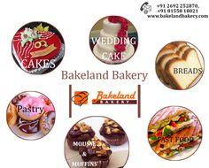 Enjoy Testy recipes made exclusively with Vegetarian. #Bakeland #Bakery @ Anand http://bakelandbakery.com/  Contact Us Now : +91 2692 252870, +91 81558 18021